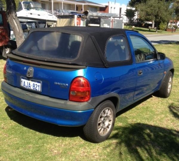 Used Holden Barina Cabrio Convertible For Sale In