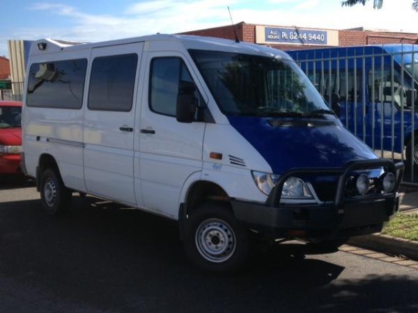 Used mercedes benz sprinter 4x4 316cdi van for sale in for Mercedes benz sprinter 4x4 for sale