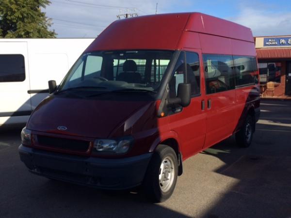 used 2005 ford transit lwb high roof automatic van. Black Bedroom Furniture Sets. Home Design Ideas